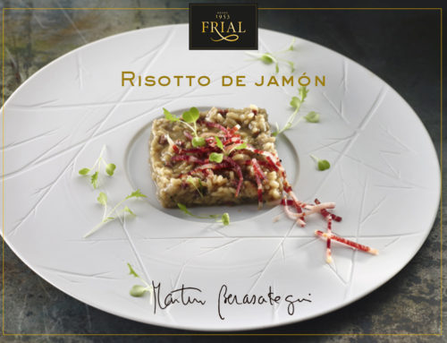 RISOTTO DE JAMÓN. RECETA DE MARTÍN BERASATEGUI