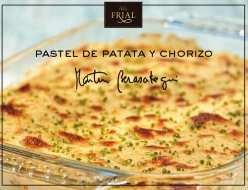 PASTEL DE PATATA Y CHORIZO. RECETA DE MARTÍN BERASATEGUI
