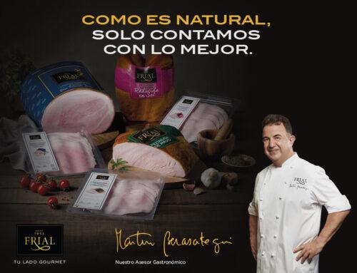 En todas las familias hay un asesor gastronómico. Frial y Martín Berasategui de nuevo en campaña de TV